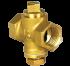 "Brass Plug Kran 1/2 "" 125 PSi (Yuta)"