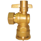 "Brass lockable-angle-valve 1/2 "" 125 Psi(Yuta)"