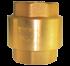 """Brass Tusen Klep 1/2 """" 125 Psi (Yuta)"""